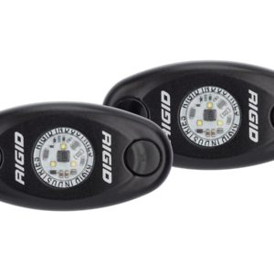 Rigid Industries A Series Dome Lights (Pair) High Power